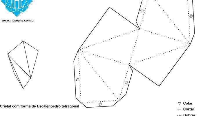 Escalenoedro tetragonal